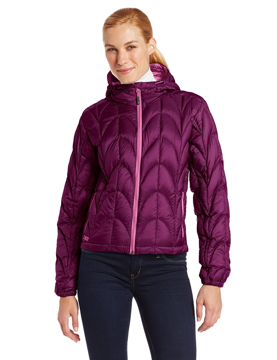 Outdoor Research Women's Aria Hoody - Size (Medium) Color (Orchid/Crocus) at Sears.com