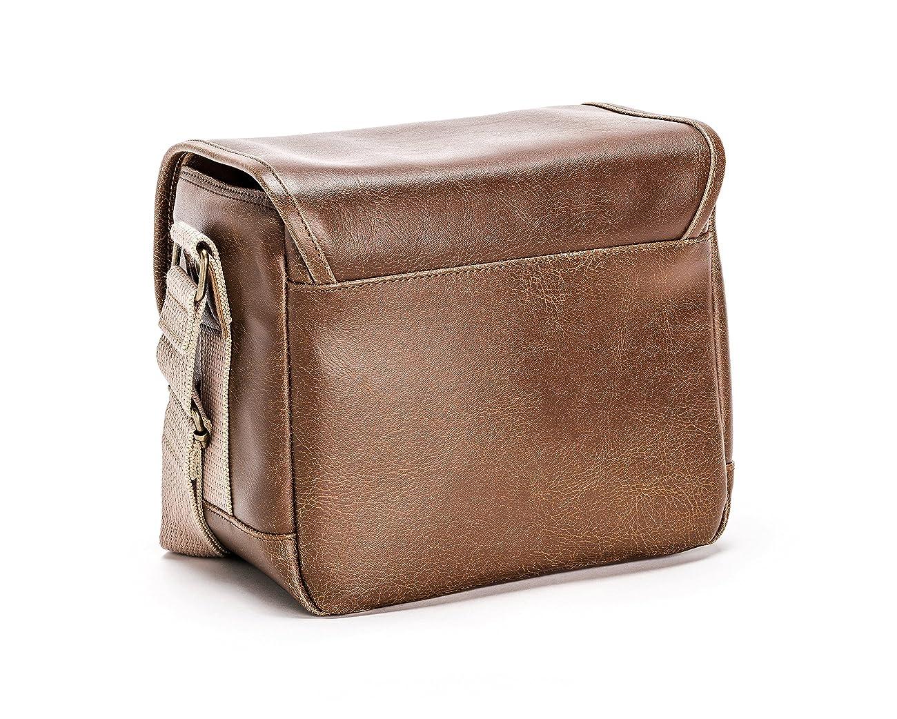 Olympus Tracker Classic Design Vintage Camera Bag (Brown) 2