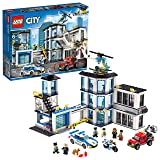 LEGO City Police Station 60141 Building Kit with Cop Car, Jail Cell, and Helicopter, Top Toy and Play Set for Boys and Girls (894 Pieces) (Color: Multi-colored)