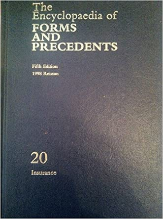 The Encyclopaedia of Forms and Precedents: Volume 20 written by Peter Millett