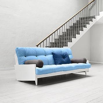 INDIE KARUP -, sofá cama: futón, marco de madera natural