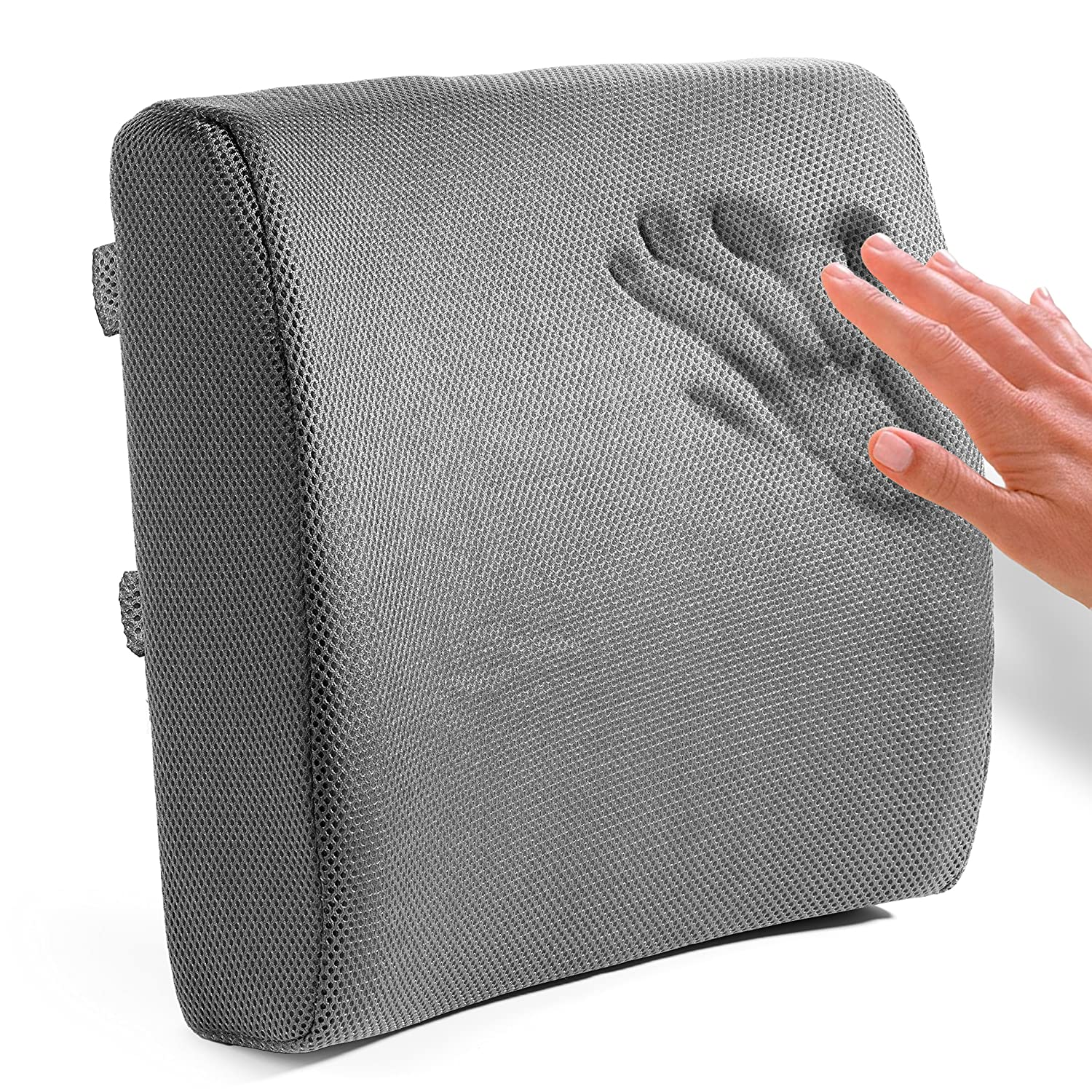 Practical pillow guide best back support for office for Chair pillow