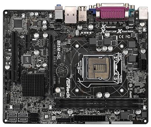 Asrock 90-MXGQP0-A0UAYZ Intel B85 Socket H3 (1150) 1 x Ethernet 1 x Serie 2 x USB 2.0 4 x USB 3.0