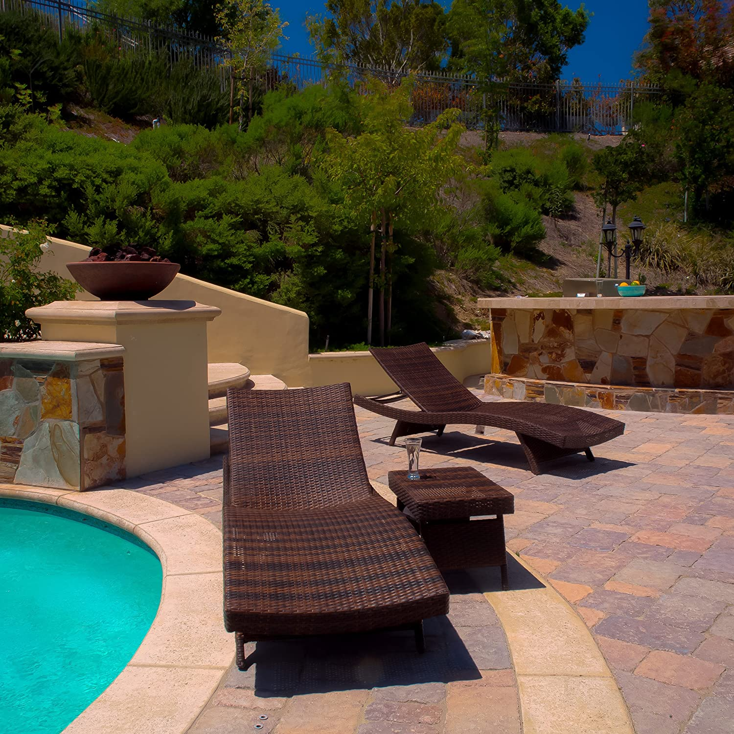 Top 10 Best Outdoor Reclining Lounge Chair for Pool and Patio 2016