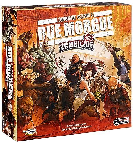 Zombicide Saison 3 - Rue Morgue - Jeu de société