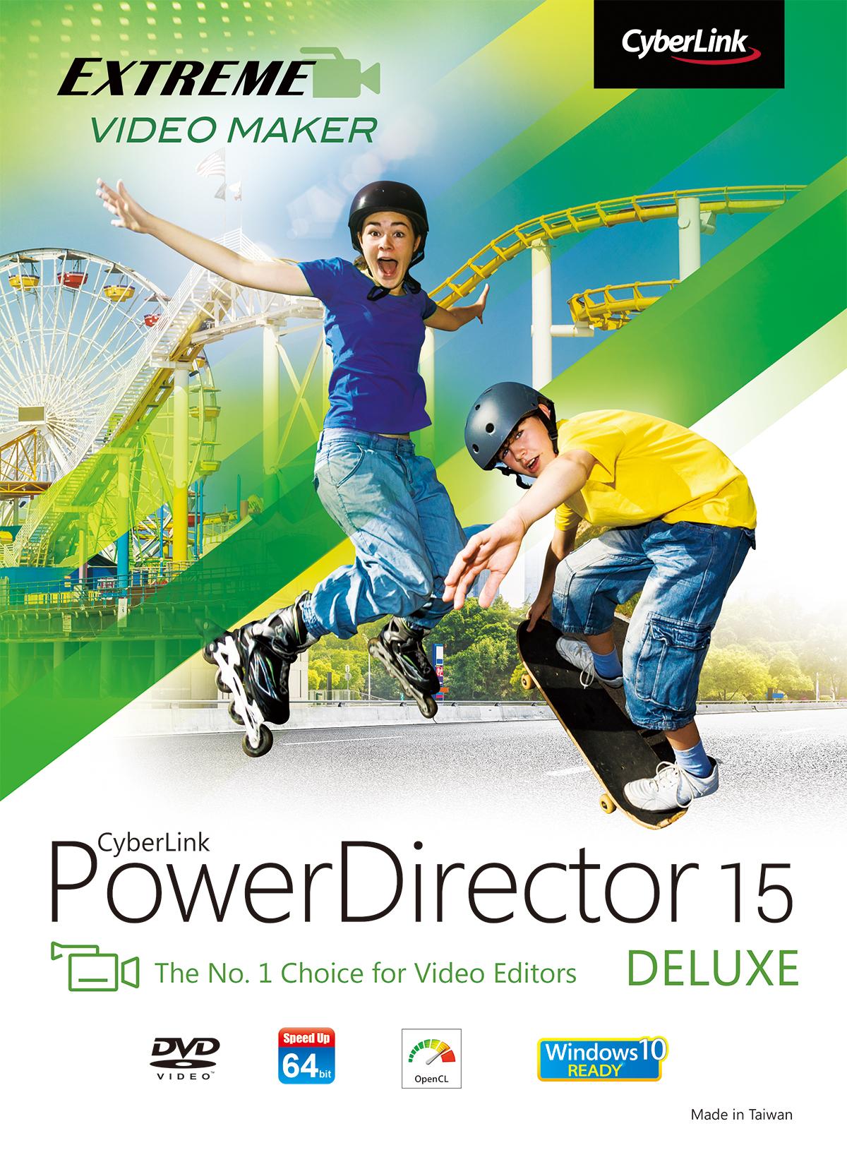 CyberLink PowerDirector 15 Deluxe [Download] (Cyberlink Powerdirector Software compare prices)