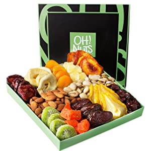 Nut and Dried Fruit Gift Basket