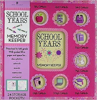 School Years Memory Keeper Pink Modern Floral