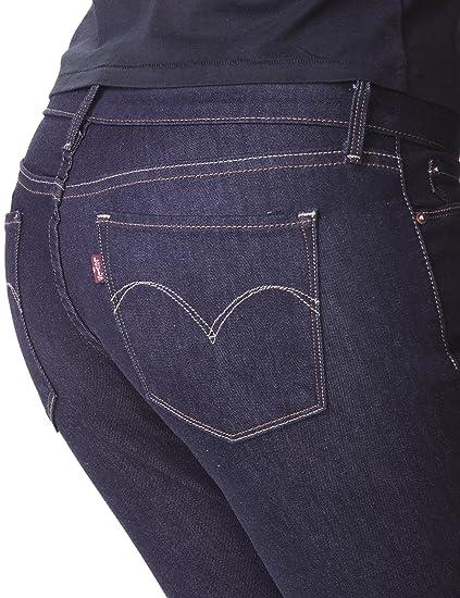 Flüssig-Jeans in schwarz