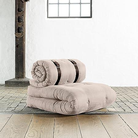 KARUP - ROLLO, un futon, due futon, una poltrona ecru