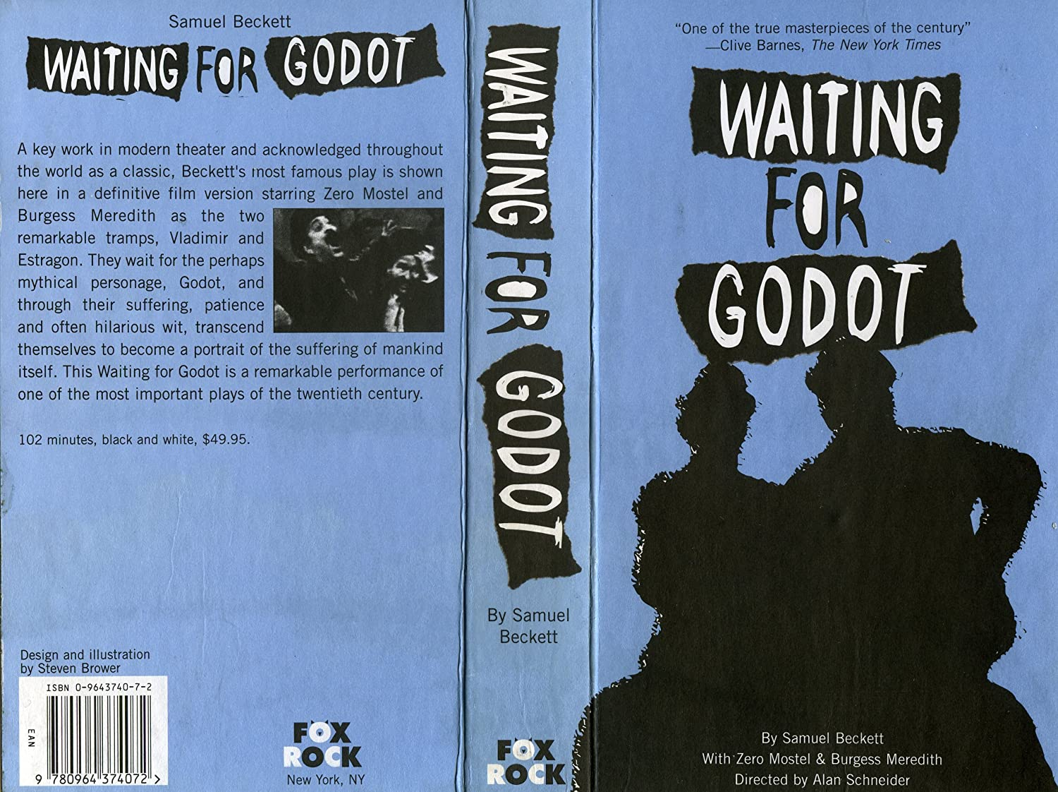 repetition in waiting for godot However, endgame should be viewed instead as a much better version of waiting for godot many of the same themes exist in endgame, but they are much denser and they do not require the two act repetition to get their point across.