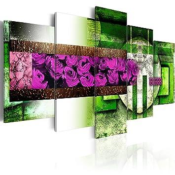 impression sur toile 200x100 200x100 cm grand format 5 parties parties image sur toile. Black Bedroom Furniture Sets. Home Design Ideas