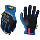Mechanix Wear Small Black And Blue FastFit Full Fi (Color: Blue, Tamaño: Small)