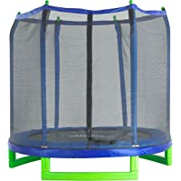Upper Bounce UBSF01-7 Indoor/Outdoor 7 ft. Classic Trampoline and Enclosure Set
