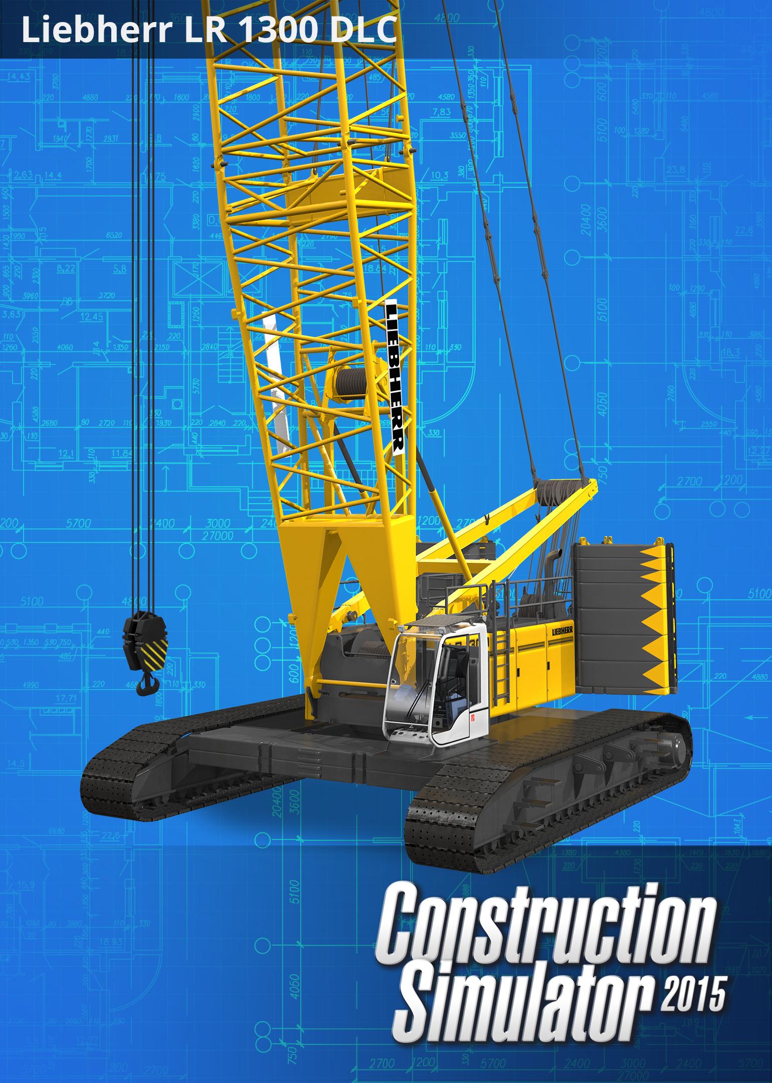 Construction Simulator 2015: Liebherr LR1300 [Online Game Code] (Construction Simulator Steam compare prices)