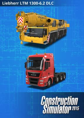 Construction Simulator 2015: Liebherr LTM 1300 6.2 [Online Game Code]