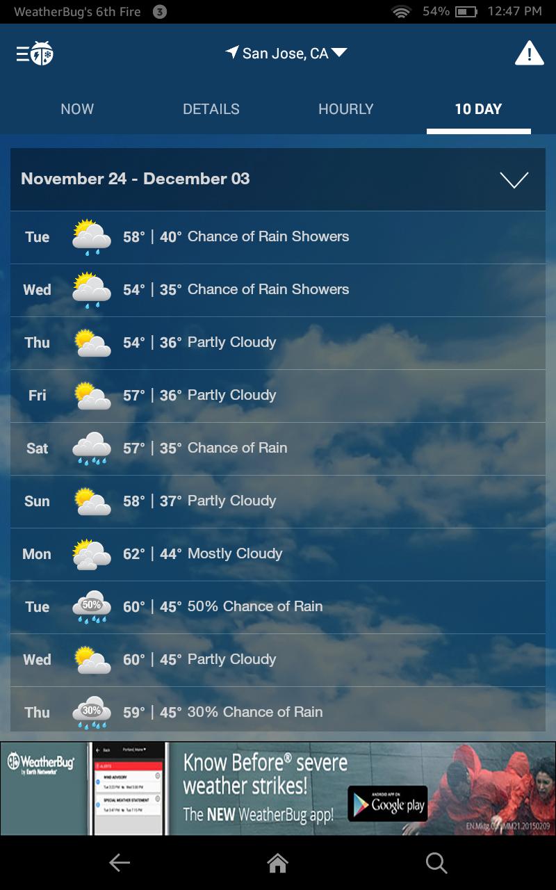 amazon com  weatherbug