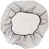 Keystone 109HPI-21-BN Dark Brown Soft Heavyweight Nylon Honeycomb Hairnet with 1/16