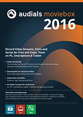 Audials Moviebox 2016: The Tool for Fans of Online Video Entertainment at a Low Price [Download]