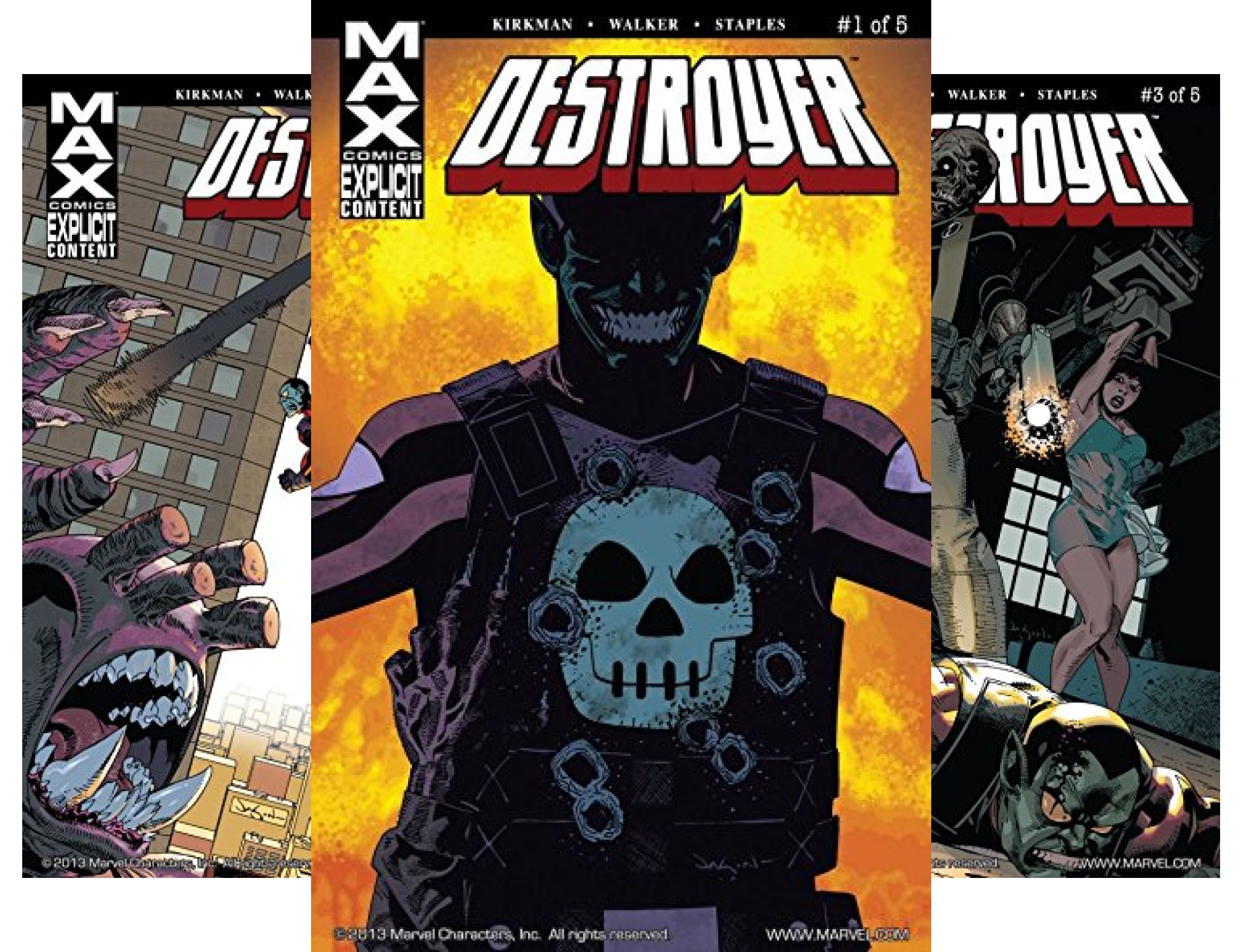 Destroyer (Issues) (5 Book Series) (Marvel Destroyer compare prices)