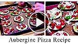 Delicious Aubergine Pizzas