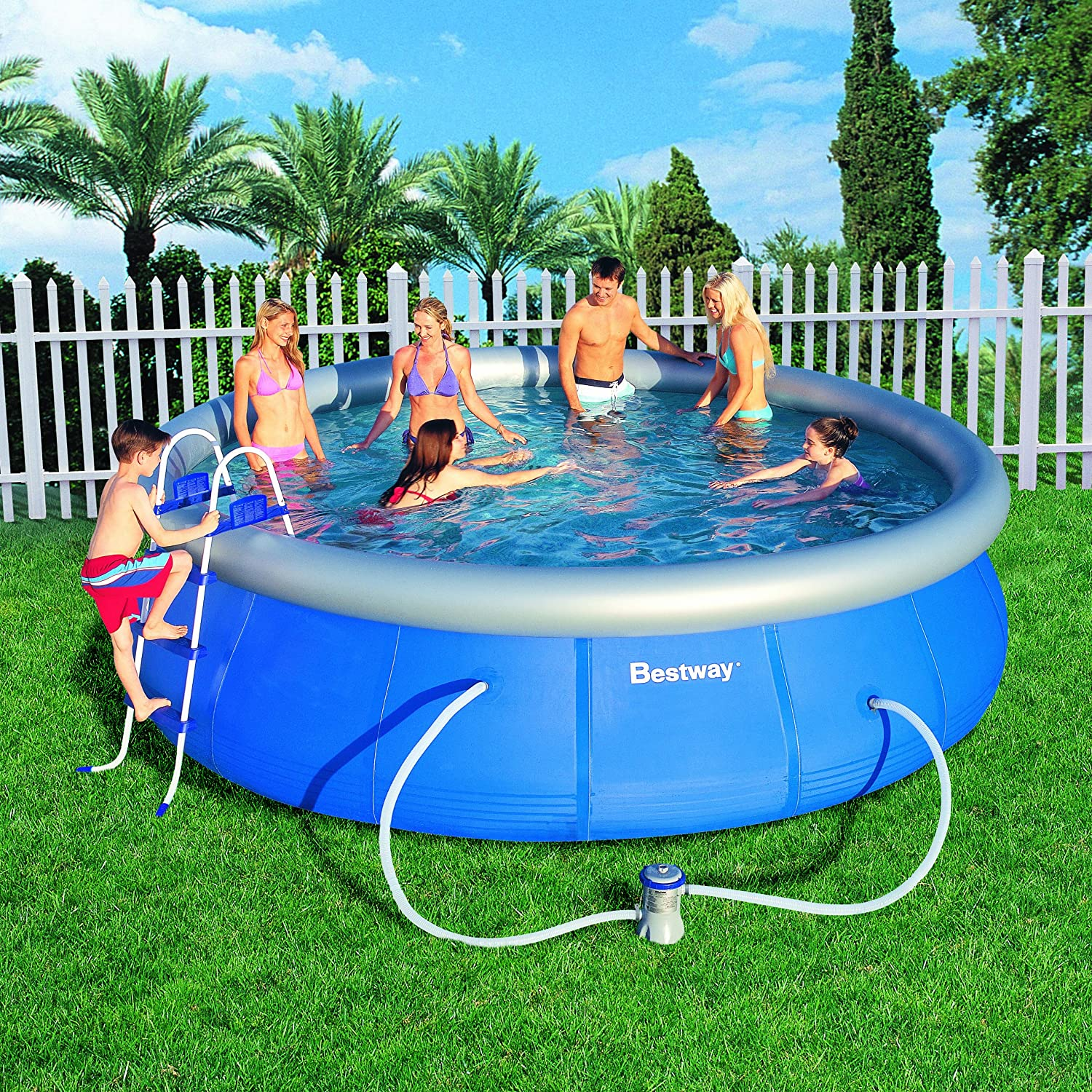 Best above ground pool reviews 2017 ultimate buying guide for Best in ground pool