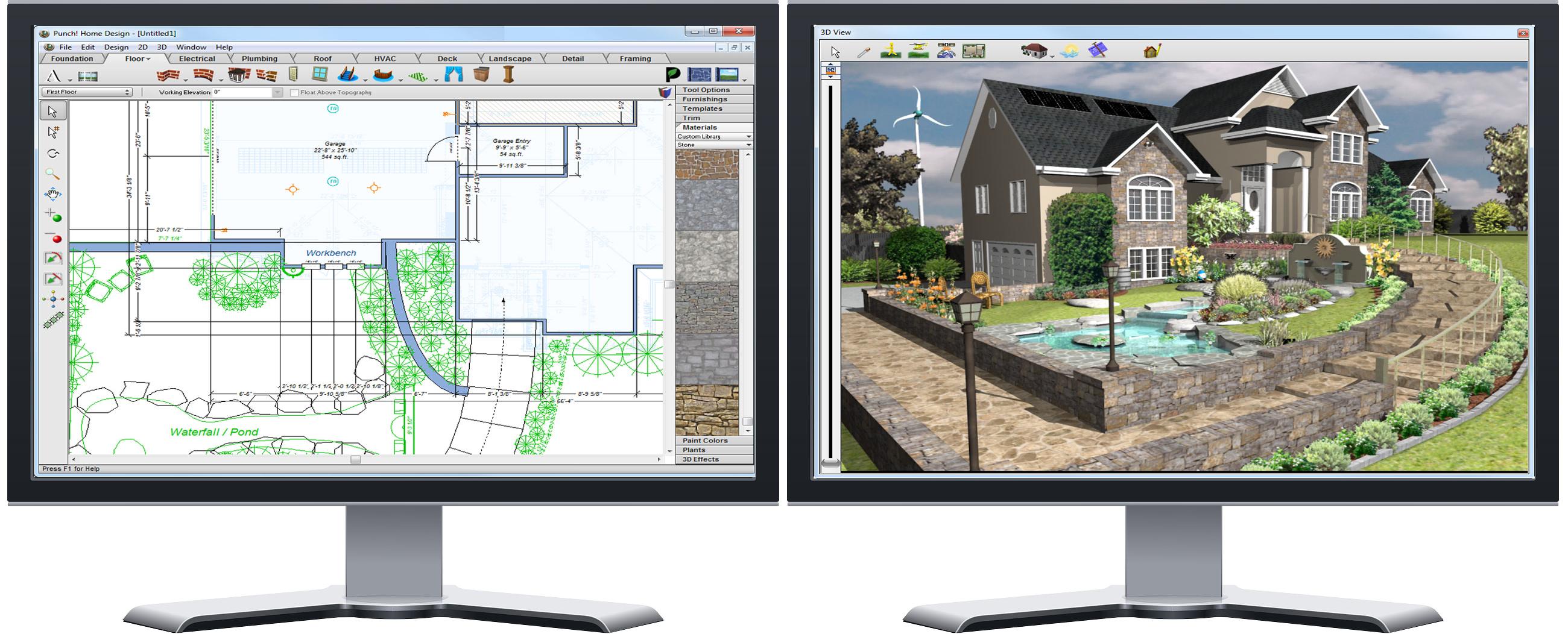 Punch home landscape design professional v17 7 - Punch software home and landscape design ...