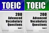 img - for TOEIC Interactive self-study: 200 Advanced Vocabulary Questions (2 Book Series) book / textbook / text book