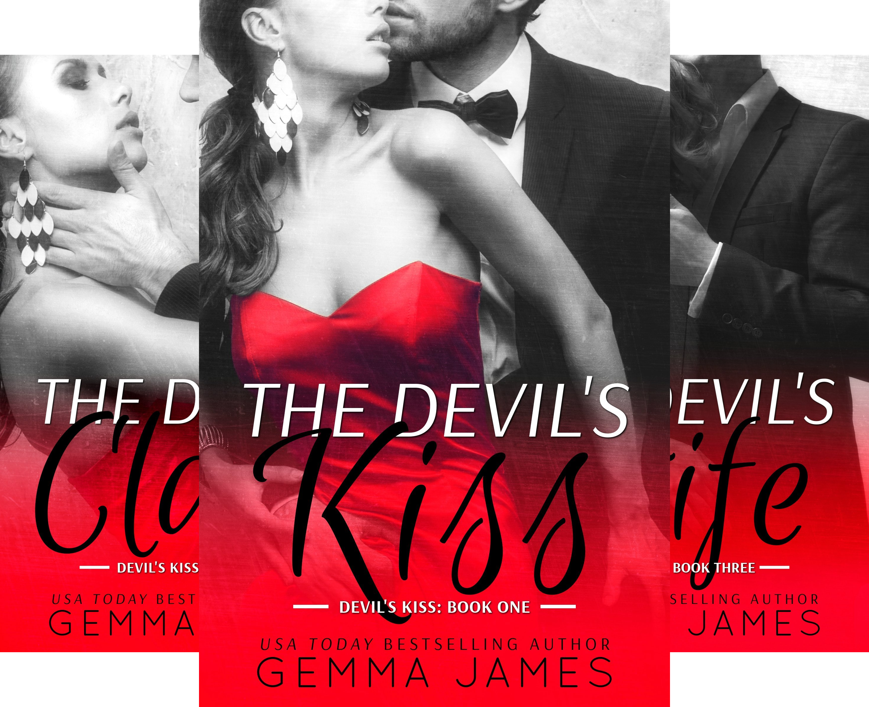 Devil's Kiss (3 Book Series) (The Devils Kiss compare prices)