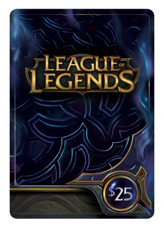 League of Legends $25 Gift Card - 3500 Riot Points [Online Game Code]