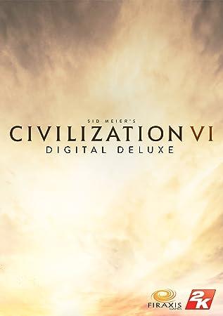 Sid Meier's Civilization VI Digital Deluxe - Pre-Load [Online Game Code]