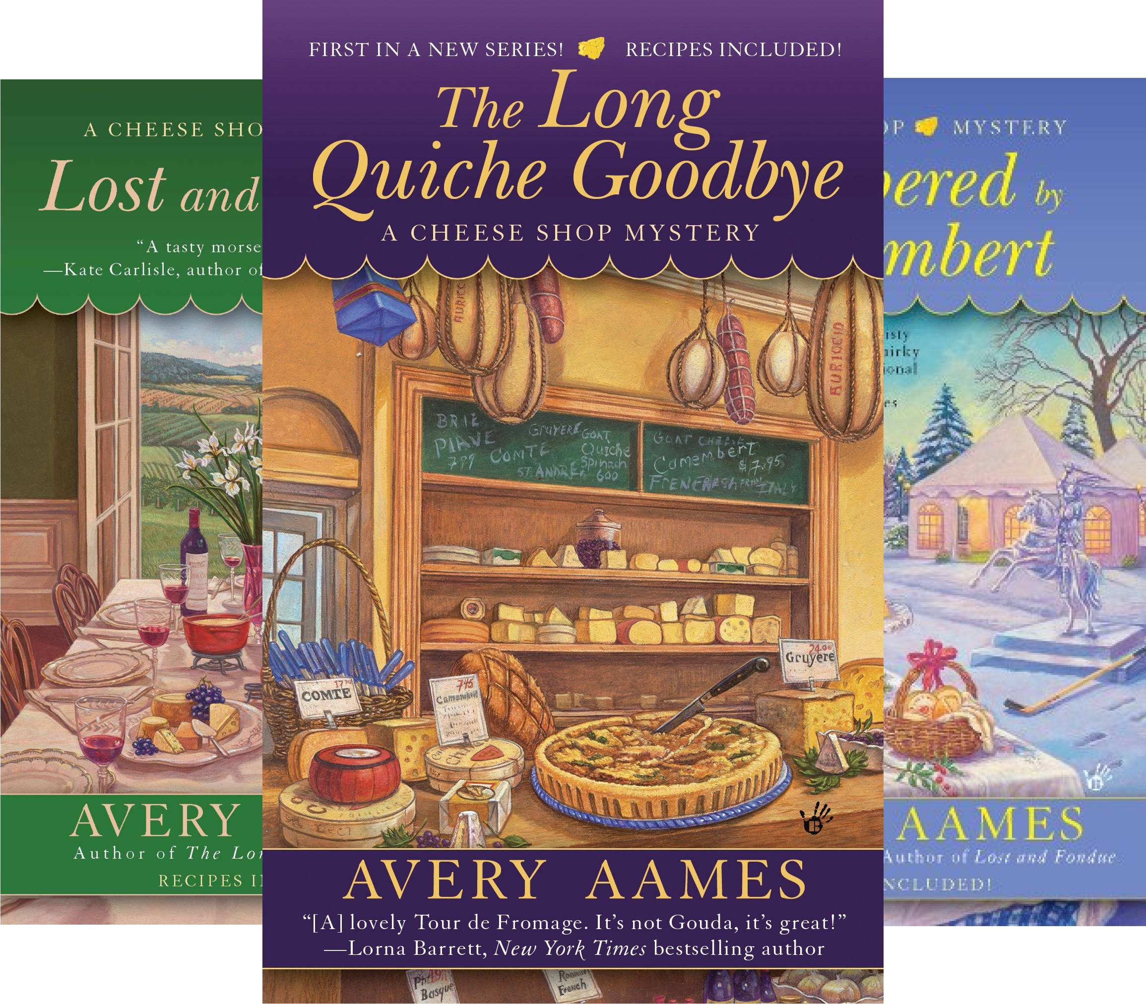 Cheese Shop Mystery (7 Book Series)