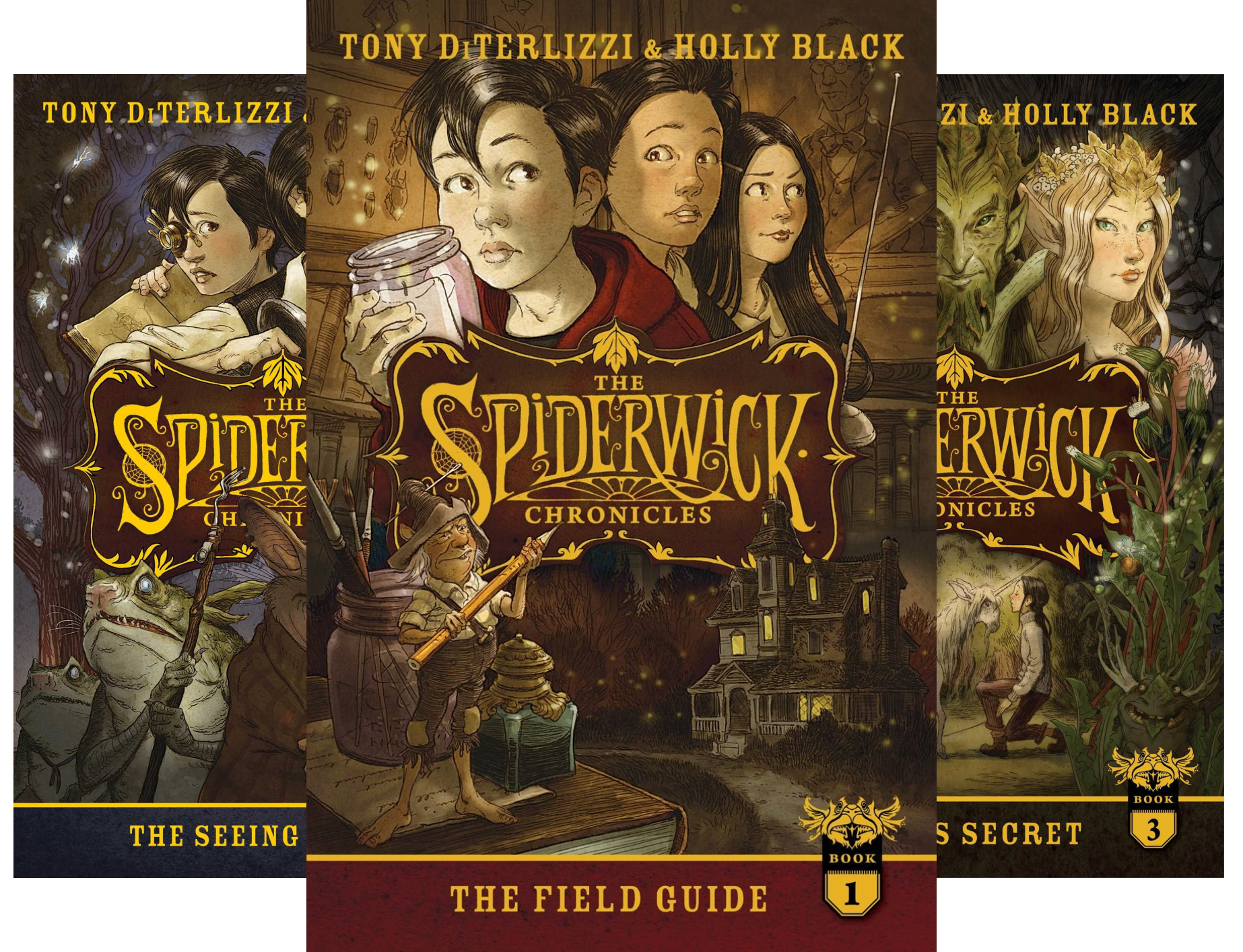 Download The Spiderwick Chronicles, the Complete Series: The Field Guide; The Seeing Stone; Lucinda's Secret; The Ironwood Tree; The Wrath of Mulgrath