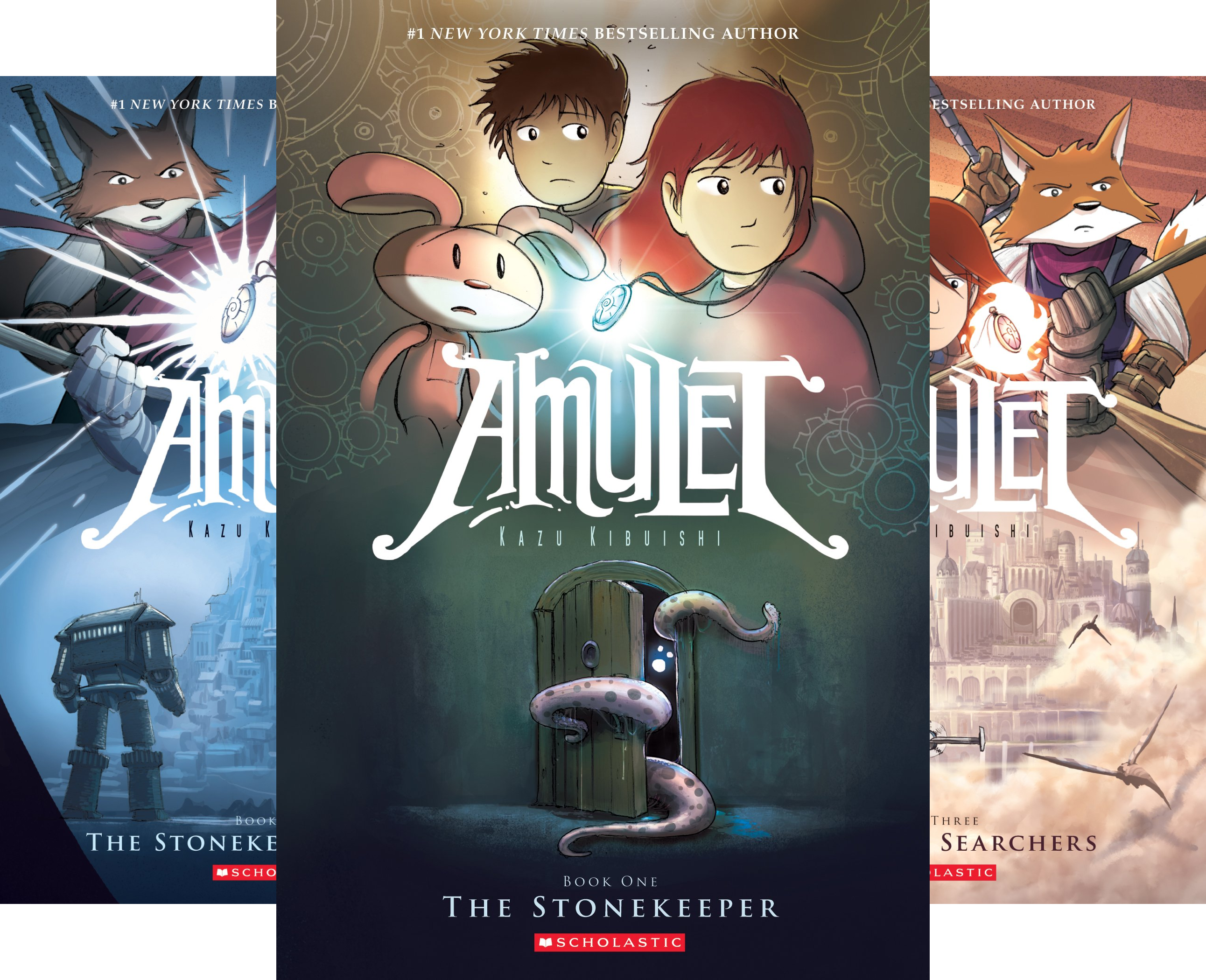 Amulet : Books 1-3 (3 Book Series) (Amulet 1 compare prices)