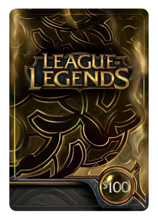 League of Legends $100 Gift Card - 15000 Riot Points [Online Game Code]