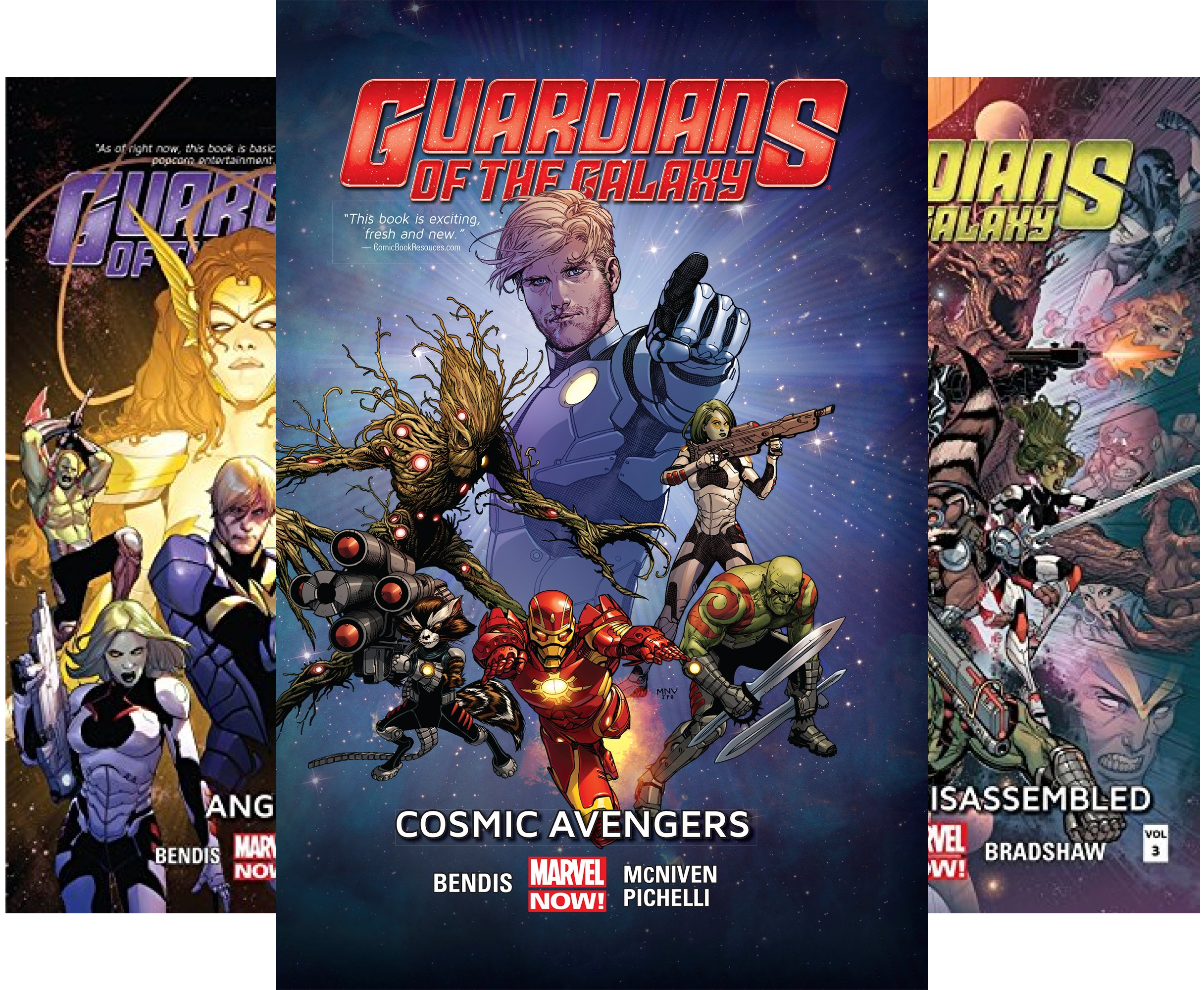 Guardians of the Galaxy (2013-2015) (Collections) (5 Book Series) (Guardians Of The Galaxy 2015)