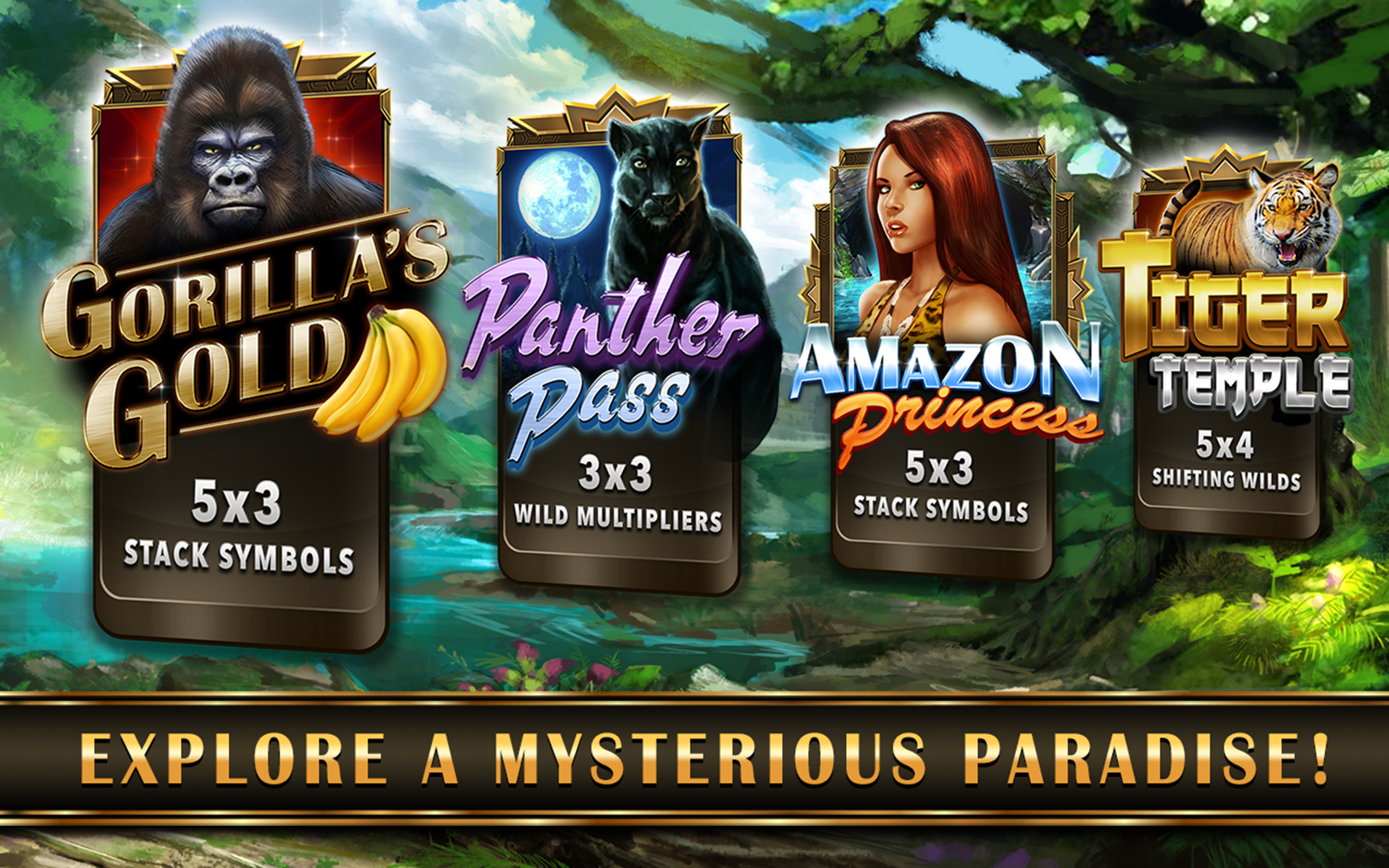 gorilla casino games