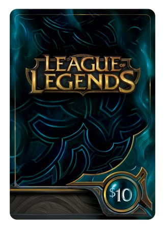 League of Legends $10 Gift Card - 1380 Riot Points [Online Game Code]