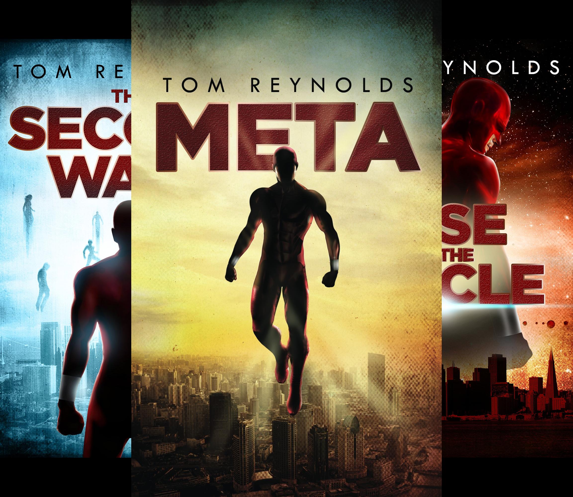 The Meta Superhero Novel Series (3