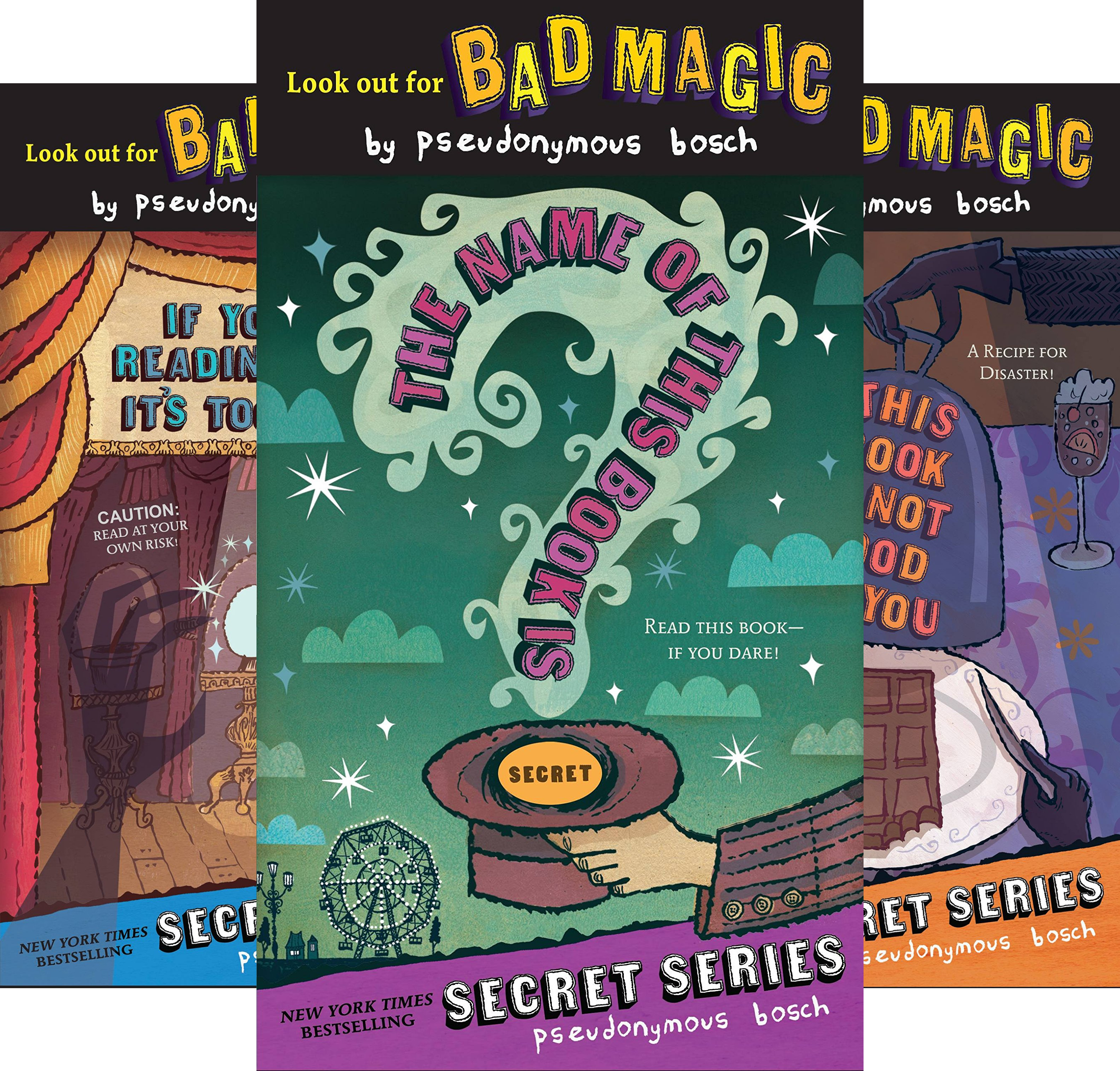 The Secret Series (5 Book Series) (Pseudonymous Bosch compare prices)
