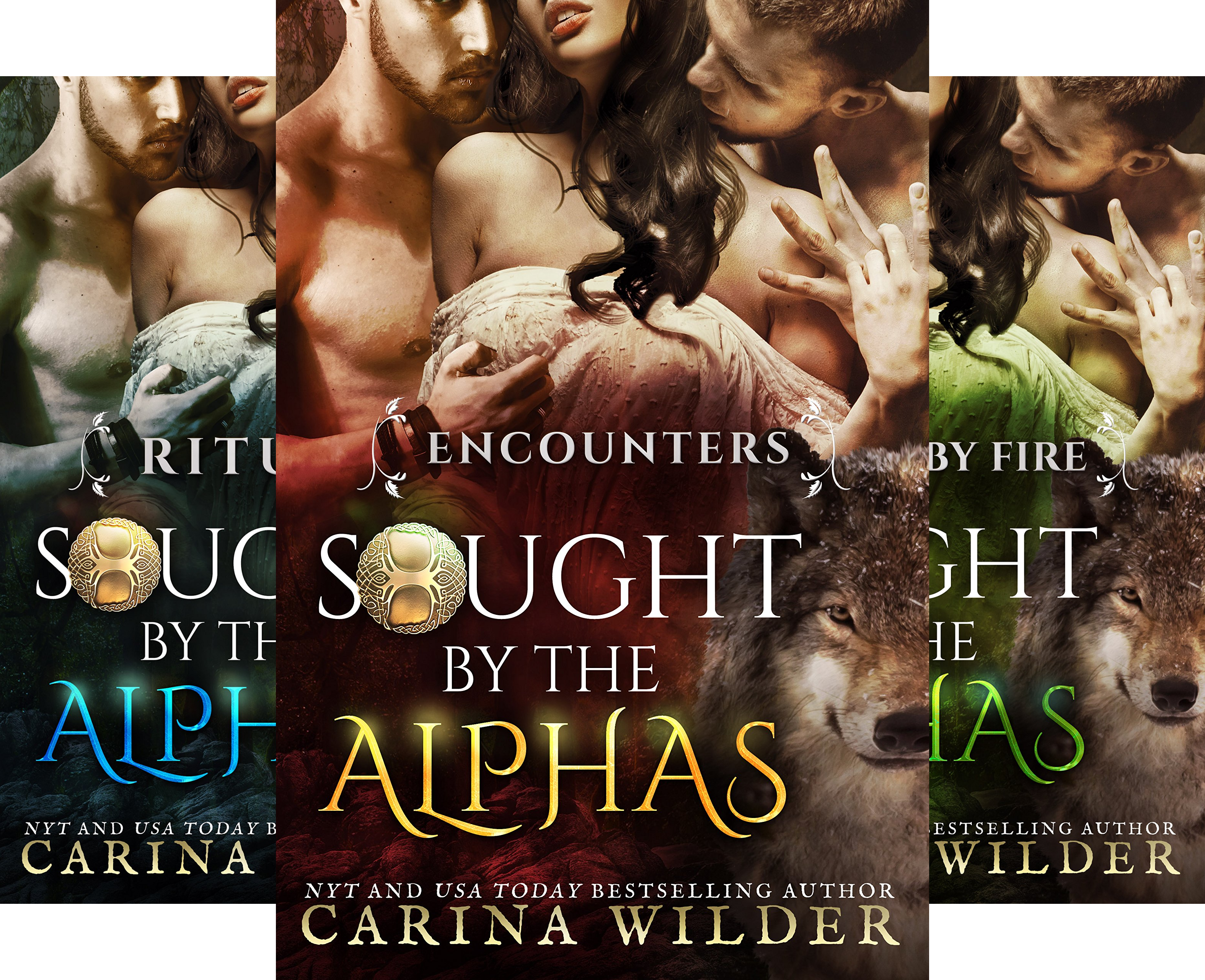 Sought by the Alphas (5 Book Series)