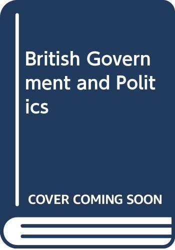 Good British Government and Politics Punnett, R.M. 043583732X