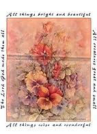 Floral Merchandise Bag: 7.5x10.5