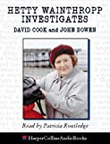 Cook, David: Hetty Wainthropp Investigates