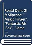 "Dahl, Roald: Roald Dahl Gift Slipcase: ""Magic Finger"", ""Fantastic Mr. Fox"", ""James and the Giant Peach"", ""Charlie and the Chocolate Factory"", ""Charlie and the Great Glass Elevator"""