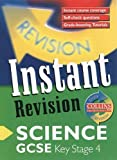 Sunley, Chris: GCSE Science: Instant Revision Cards (Collins Study & Revision Guides)