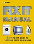 Collins Fixit Manual by Albert Jackson