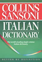 The Collins-Sansoni Italian Dictionary by…