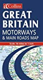 Collins Publishers: Great Britain Motorways & Main Roads Map