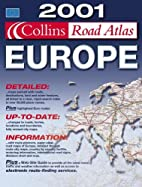 Collins road atlas Europe by Bartholomew